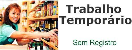 empregos temporarios sem registro Empregos Temporários Sem Registro
